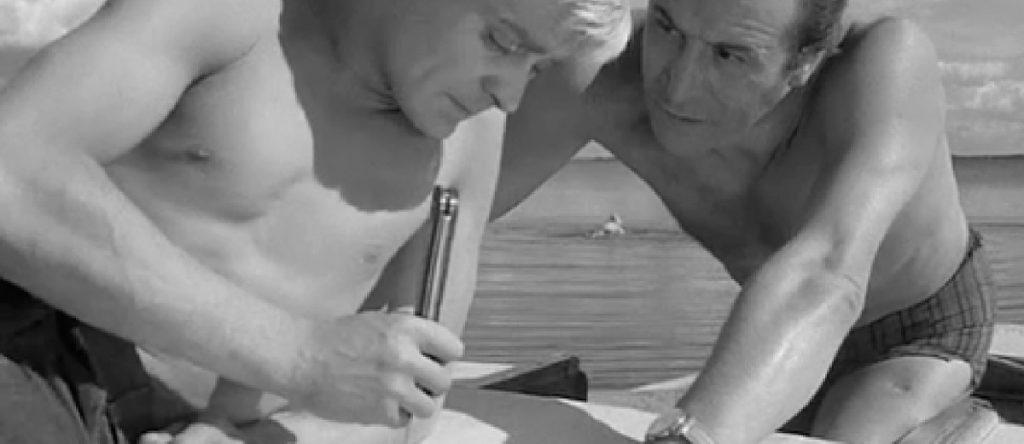 BATALHA NAVAL OU F, DE FACA, 1, 2 e 3 — A Faca na Água (1962)